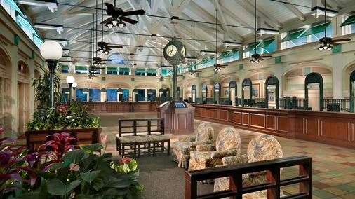 Disney's Caribbean Beach Resort - Lake Buena Vista - Lobby