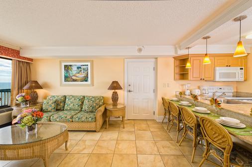 Westgate Myrtle Beach Oceanfront Resort - Myrtle Beach - Living room