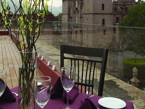 Hotel Mision Catedral Morelia - Morelia - Dining room