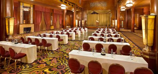 The Queen Mary - Long Beach - Meeting room