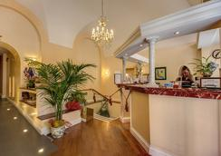 Hotel Orbis - Rome - Front desk