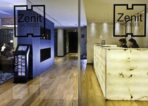 Hotel Zenit Abeba - Madrid - Front desk