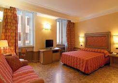Hotel Cecil - Rome - Bedroom