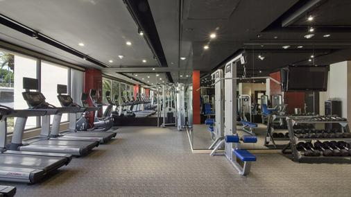 The La Hotel Downtown - Los Angeles - Gym