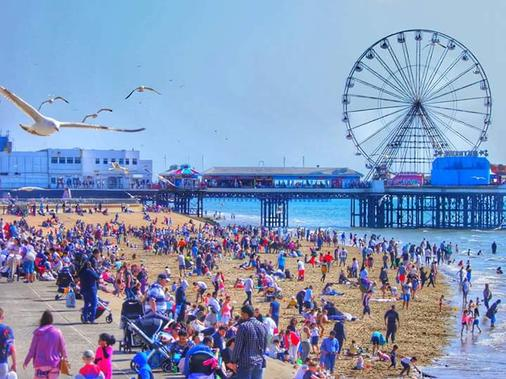 Ardsley Hotel - Blackpool - Beach