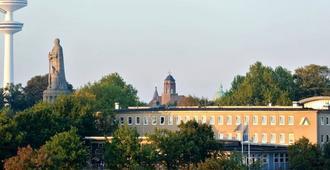 Jugendherberge Hamburg Auf dem Stintfang - Hostel - Hamburg - Building