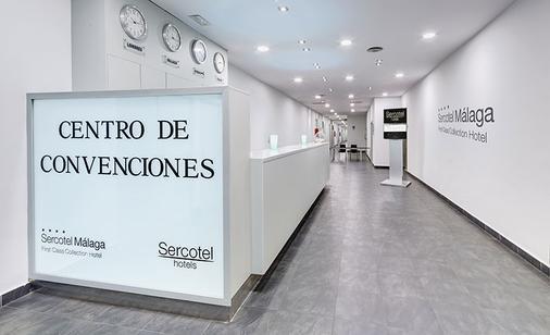 Hotel Sercotel Malaga an Ascend Hotel Collection Member - Malaga - Front desk