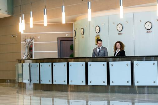 Grand Hotel Konya - Konya - Front desk