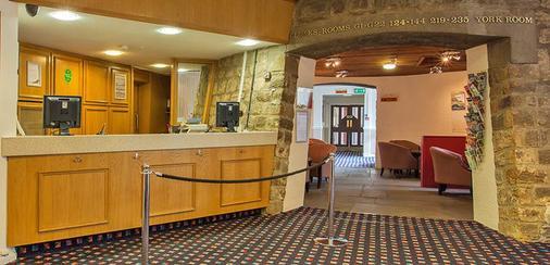 Britannia Hotel Leeds - Leeds - Front desk