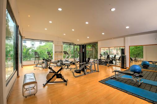 Santorini Hotel and Resort - Santa Marta - Gym