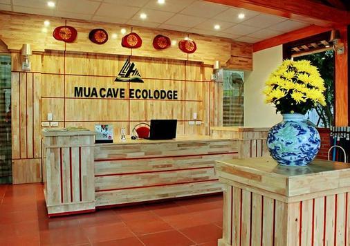 Mua Caves Ecolodge (Hang Mua) - Ninh Bình - Front desk