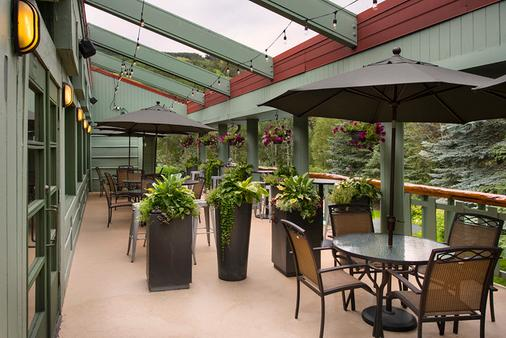 Evergreen Lodge & Condos - Vail - Patio