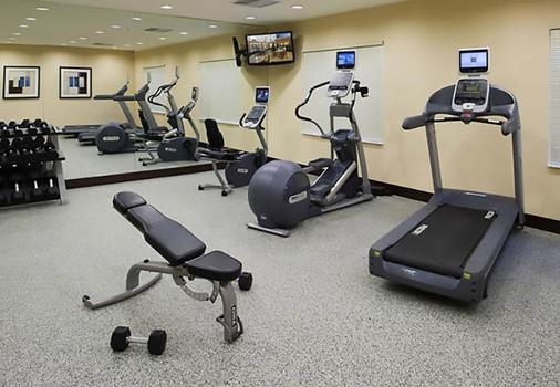 Fairfield Inn and Suites by Marriott Houston Intercontinental Airport - Houston - Gym
