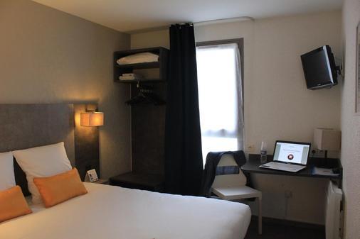 Inter-Hotel Nantes Centre Gare Novella - Nantes - Bedroom