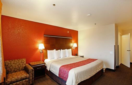 Red Roof Inn Ontario Airport - Ontario - Bedroom