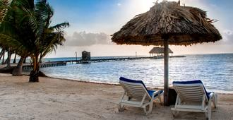 Royal Caribbean Resort - San Pedro Town - Beach