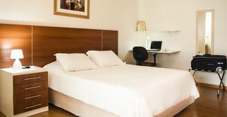 City Hall Flat-Hotel - São José dos Campos - Bedroom