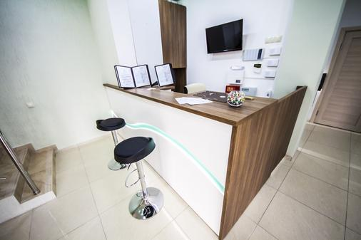 Hotel Pelikan - Krasnodar - Front desk