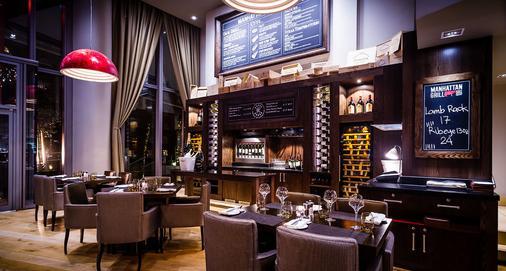 Marriott Executive Apartments London, West India Quay - London - Restaurant