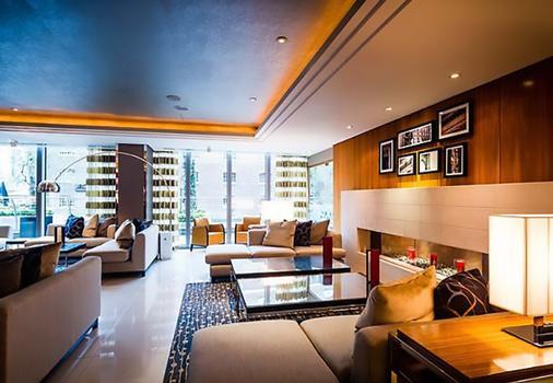 Marriott Executive Apartments London, West India Quay - London - Bar
