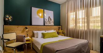 The White House Hotel At Dizengoff Square - Tel Aviv - Bedroom