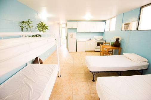 Waikiki Beachside Hostel - Honolulu - Bedroom
