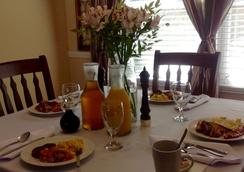 The Hargett Bed and Breakfast - Raleigh - Dining room