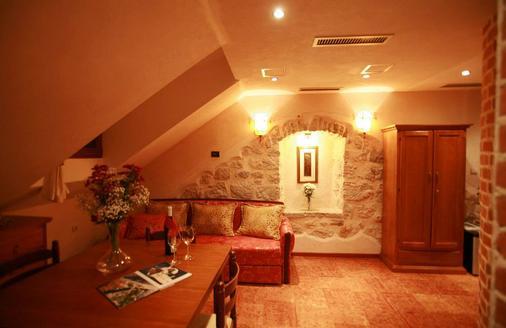 Galathea Hotel - Kotor - Living room