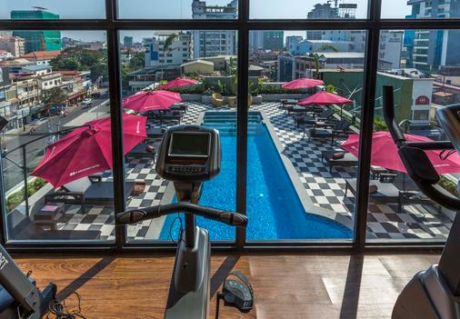 G Mekong Hotel - Phnom Penh - Gym