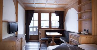 Spannort And Restaurant - Engelberg - Bedroom