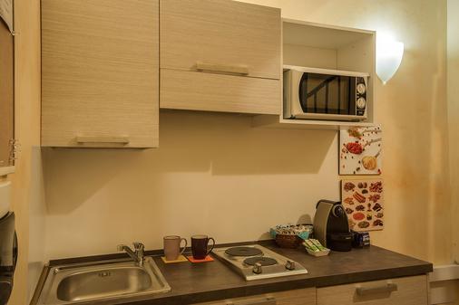 Rome King Suite - Rome - Kitchen
