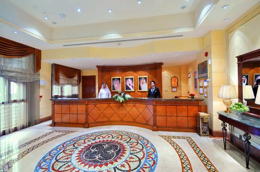 Dar Al Taqwa Hotel - Medina - Front desk