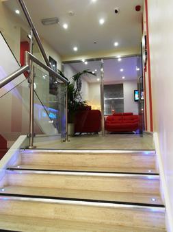 Le Ville Hotel - Manchester - Hallway
