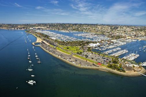 Bay Club Hotel & Marina - San Diego - Outdoor view