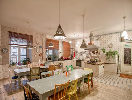 Soul Kitchen Hostel - Saint Petersburg - Kitchen