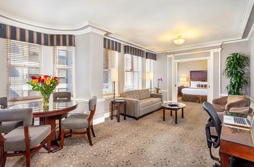 Handlery Union Square Hotel - San Francisco - Living room