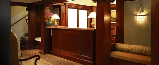Hotel Drisco - San Francisco - Front desk