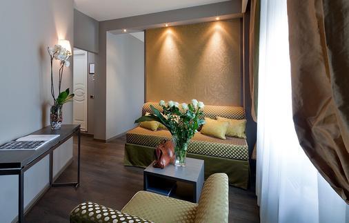 Hotel Mozart - Milan - Living room