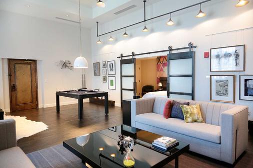 Hotel Commonwealth - Boston - Living room
