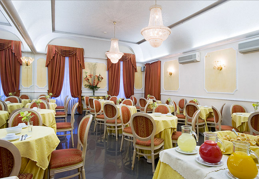 Hotel Zara - Rome - Dining room
