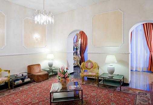 Hotel Zara - Rome - Hallway