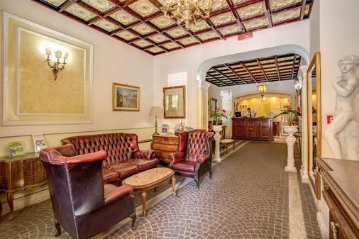 Hotel D'Este - Rome - Hallway