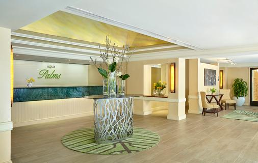 Aqua Palms Waikiki - Honolulu - Front desk