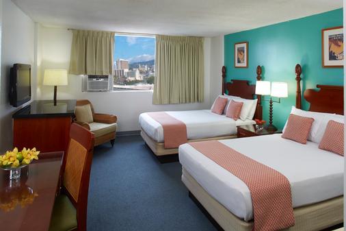 Pagoda Hotel - Honolulu - Bedroom