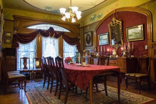 Castle Marne Bed & Breakfast - Denver - Dining room