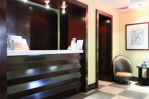 Park West Hotel - New York - Front desk