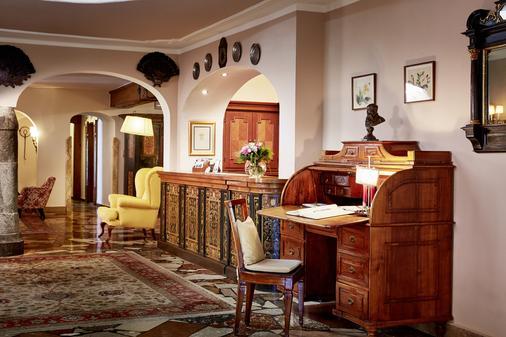 Tennerhof Gourmet & Spa de Charme Hotel - Kitzbühel - Front desk