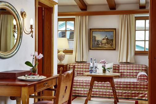 Tennerhof Gourmet & Spa de Charme Hotel - Kitzbühel - Living room