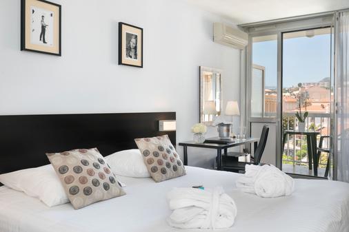 Quality Hotel Mediterranee Menton - Menton - Bedroom