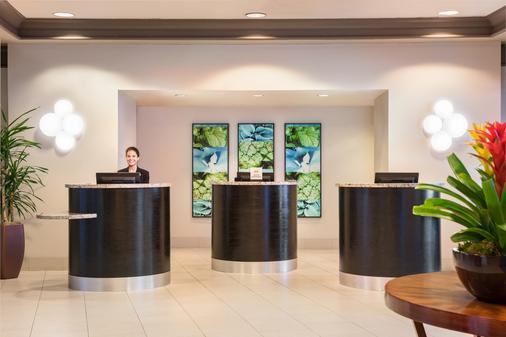 Hilton San Diego Airport/Harbor Island - San Diego - Front desk